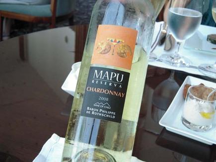白ワイン MAPU RESERVA 2008 シャルドネ